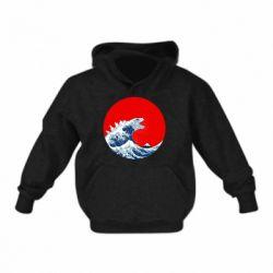 Дитяча толстовка Godzilla Wave
