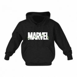 Детская толстовка Marvel logo and vine