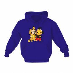 Детская толстовка Mickey and Pikachu