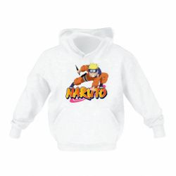 Дитяча толстовка на флісі Naruto with logo