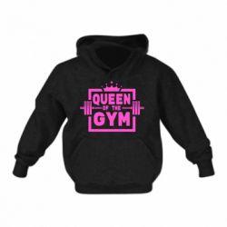 Дитяча толстовка на флісі Queen Of The Gym