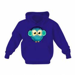 Детская толстовка Winter owl