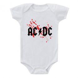Детский бодик ACDC - FatLine