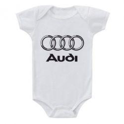 Детский бодик Audi Big - FatLine