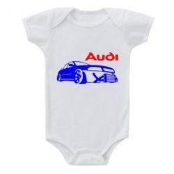 Детский бодик Audi Turbo - FatLine
