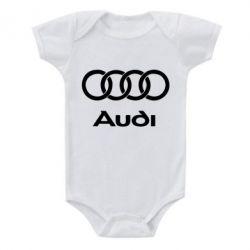 Детский бодик Audi - FatLine