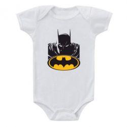 Детский бодик Batman face - FatLine