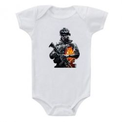 Детский бодик Battlefield Warrior