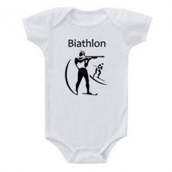 Детский бодик Biathlon - FatLine