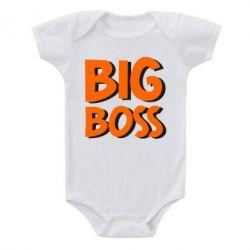 Детский бодик Big Boss - FatLine