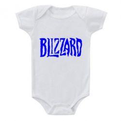Детский бодик Blizzard Logo - FatLine