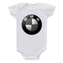 Детский бодик BMW Black & White - FatLine