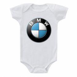 Детский бодик BMW Logo 3D - FatLine