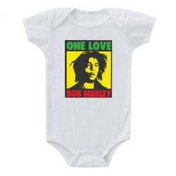 Детский бодик Bob Marley One Love - FatLine