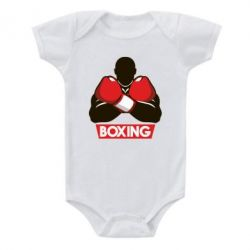 Детский бодик Box Fighter - FatLine