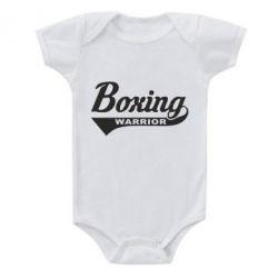 Дитячий бодік Boxing Warrior