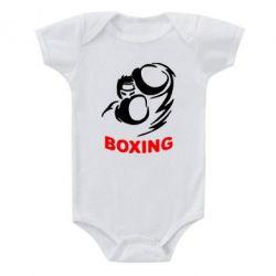 Детский бодик Boxing - FatLine