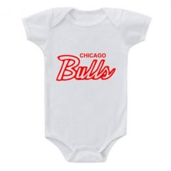 Детский бодик Bulls from Chicago - FatLine