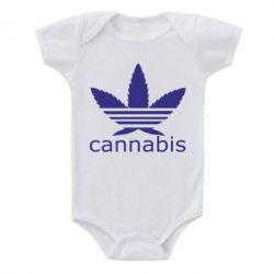 Детский бодик Cannabis - FatLine