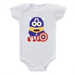 Детский бодик Captain America Minion - FatLine
