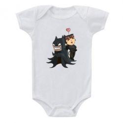 Детский бодик Catwoman and Angry Batman - FatLine