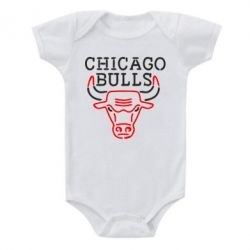 Детский бодик Chicago Bulls Logo - FatLine