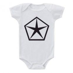 Детский бодик Chrysler Star - FatLine