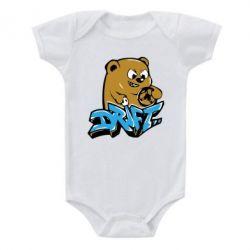 Детский бодик Drift Bear - FatLine