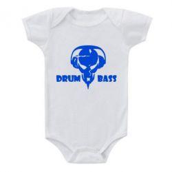 Детский бодик Drumm Bass - FatLine