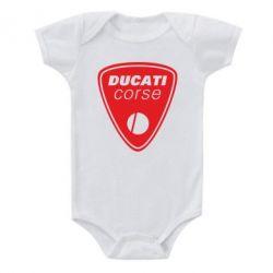 Детский бодик Ducati Corse - FatLine
