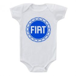 Детский бодик Fiat logo - FatLine
