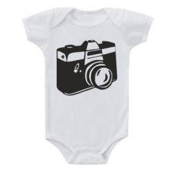 Детский бодик Фотоаппарат - FatLine