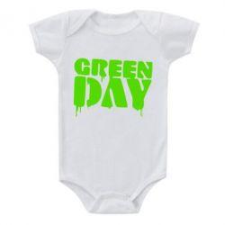Детский бодик Green Day - FatLine