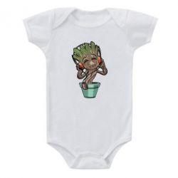 Детский бодик Groot - FatLine