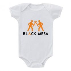 Детский бодик Half Life Black Mesa - FatLine
