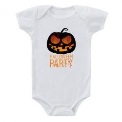 Детский бодик Halloween Party - FatLine