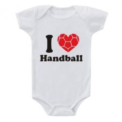 Детский бодик Handball one love - FatLine