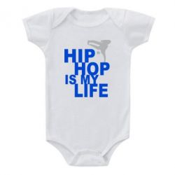 Детский бодик Hip-hop is my life - FatLine
