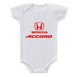 Детский бодик Honda Accord - FatLine