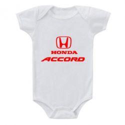 Дитячий бодік Honda Accord