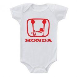 Детский бодик Honda - FatLine