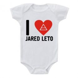 Детский бодик I love Jared Leto - FatLine