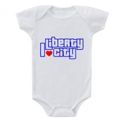 Детский бодик I love Liberty City - FatLine