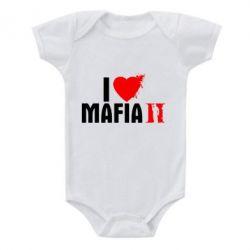 Детский бодик I love Mafia 2 - FatLine