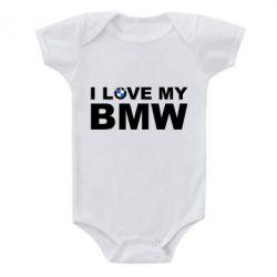 Детский бодик I love my BMW - FatLine