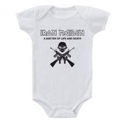 Детский бодик Iron Maiden - FatLine