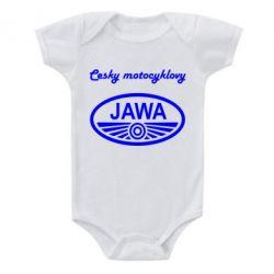 Детский бодик Java Cesky Motocyclovy - FatLine
