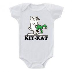 Детский бодик Kit-Kat - FatLine