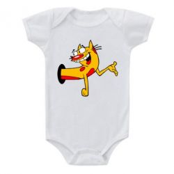 Детский бодик Кіт