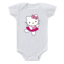 Детский бодик Kitty балярина - FatLine